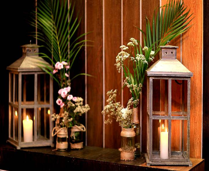 wooden lanterns magic